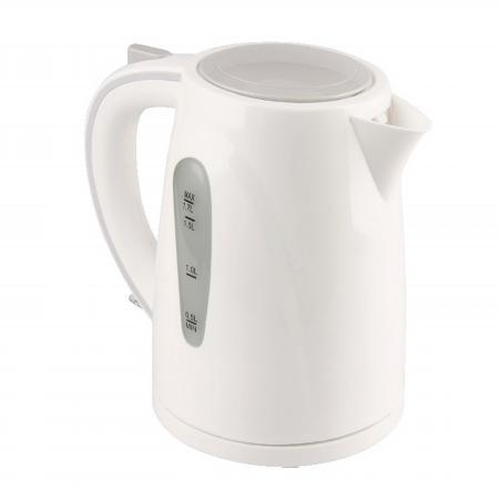 Чайник Zimber ZM-11109 2200 Вт 1.7 л пластик белый серый