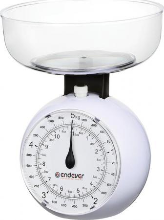 Весы кухонные ENDEVER KS-517 белый endever ks 518 весы кухонные