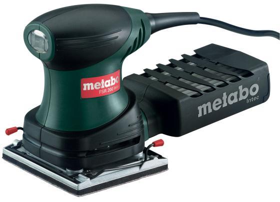 Виброшлифовальная машина Metabo FSR 200 Intec 200Вт 600066500 машинка шлифовальная плоская вибрационная metabo fsr 200 intec 600066500