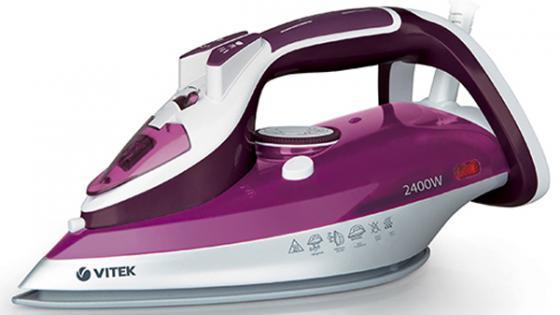 Утюг Vitek VT-1246 1800Вт фиолетовый утюг vitek vt 1266 b 2400вт голубой