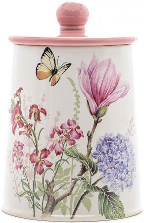 цена на Банка для сыпучих Loraine LR-25632 с рисунком бабочки