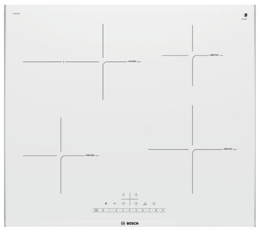 Варочная панель электрическая Bosch PIF672FB1E белый варочная панель электрическая bosch pif672fb1e белый