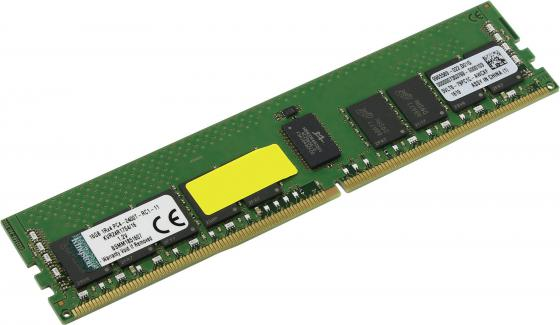 Оперативная память 16Gb PC4-19200 2400MHz DDR4 DIMM CL17 ECC Kingston KVR24R17S4/16  оперативная память 16gb pc4 19200 2400mhz ddr4 dimm cl15 kingston hx424c15fr 16