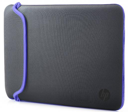 Сумка для ноутбука 11.6 HP Chroma Sleeve серый фиолетовый V5C22AA 14 чехол для ноутбука hp chroma sleeve серый зеленый