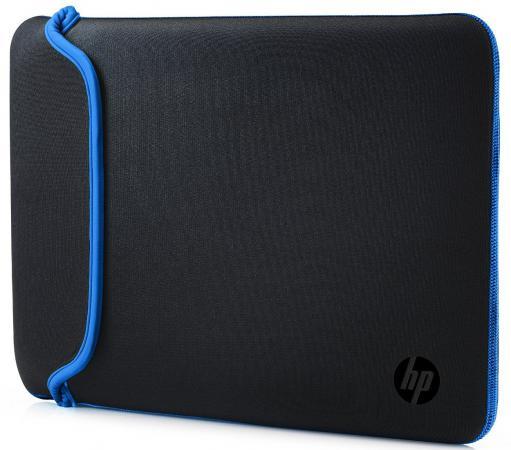 """цена на Сумка для ноутбука 15.6"""" HP Chroma Sleeve черный синий V5C31AA"""