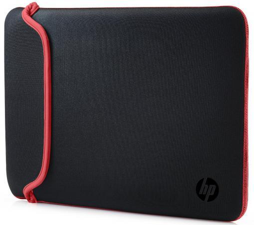 Сумка для ноутбука 15.6 HP Chroma Sleeve черный красный V5C30AA rm1 2337 rm1 1289 fusing heating assembly use for hp 1160 1320 1320n 3390 3392 hp1160 hp1320 hp3390 fuser assembly unit