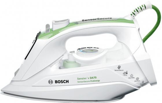 лучшая цена Утюг Bosch TDA 702421E 2400Вт белый зелёный