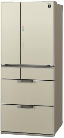 все цены на Холодильник Sharp SJ-GF60AT бежевый