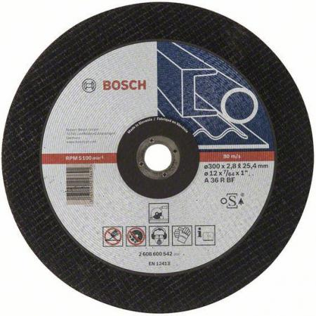 Отрезной круг Bosch 300х25.4мм 2608600542
