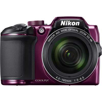 лучшая цена Фотоаппарат Nikon Coolpix B500 Plum