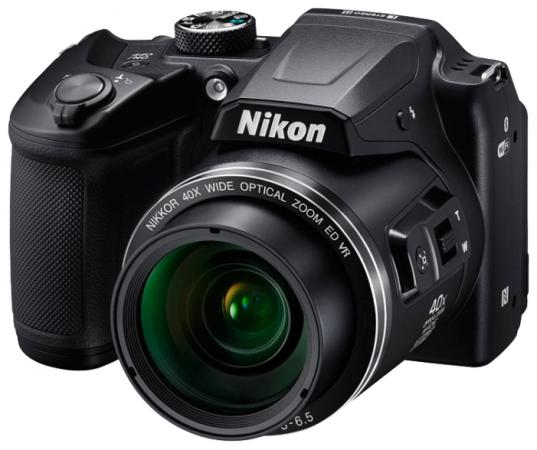 Фотоаппарат Nikon Coolpix B500 Black цена