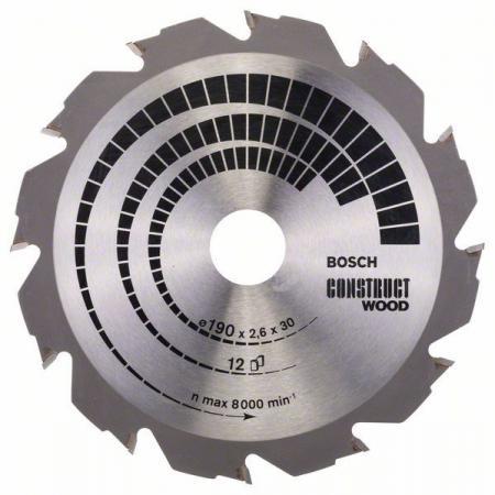 Пильный диск Bosch 190х30мм 2608640633 цена