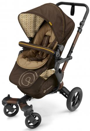 Коляска 3-в-1  Concord Neo Travel Set (walnut brown) коляска concord concord коляска 3 в 1 neo travel set cool beige 2016