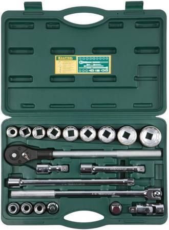 Набор торцовых головок Kraftool INDUSTRIE QUALITAT 20шт 27895-H20_z01 kraftool industrie qualitat 27881 h37