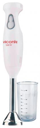 Блендер погружной Viconte VC-4413 500Вт белый блендер погружной viconte vc 4407 200вт бежевый