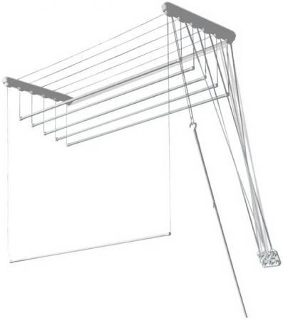 Сушилка для белья Gimi Lift 180 настенная сушилка д белья gimi lift 160 9 5м настенно потолочная