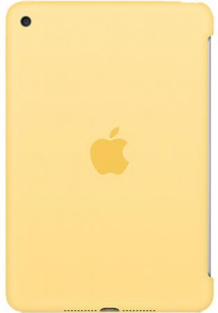 Чехол Apple Silicone Case для iPad mini 4 желтый MM3Q2ZM/A lab c slim fit case чехол для apple ipad mini 4 red