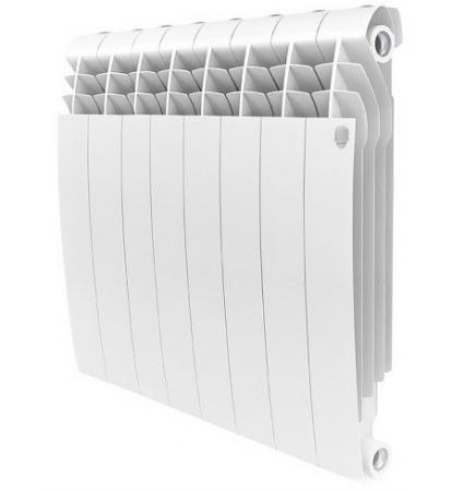 Радиатор Royal Thermo BiLiner 500 8 секций белый royal thermo алюминиевый indigo 500 8 секций