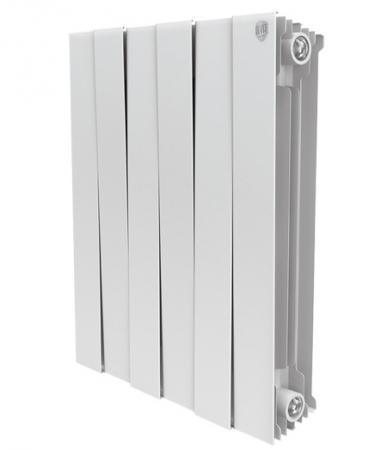 Радиатор Royal Thermo PianoForte 500/Bianco Traffico 12 секций радиатор royal thermo pianoforte tower bianco traffico 22 секции