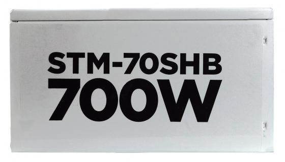 Блок питания ATX 700 Вт STM 70SHB блок питания stm electronics 400w 40sh silver