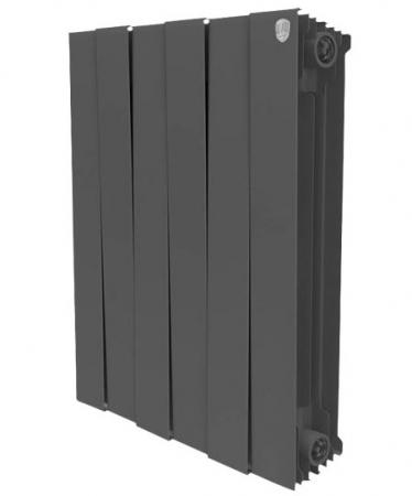 Радиатор Royal Thermo PianoForte 500/Noir Sable 8 секций радиатор royal thermo pianoforte tower noir sable 18 секций rtpftns50018