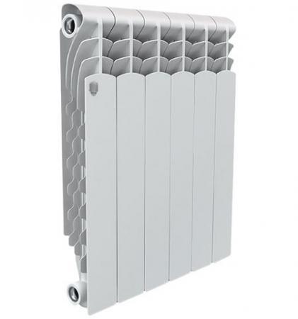 Радиатор Royal Thermo Revolution 500 12 секций биметаллический радиатор rifar рифар b 500 нп 10 сек лев кол во секций 10 мощность вт 2040 подключение левое