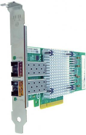 Сетевой адаптер Dell X520 DA/SFP+ PCI-E 10/100/1000Mbps 540-BBDR адаптер dell x710 intel dual port 10gb sfp 540 bbiv