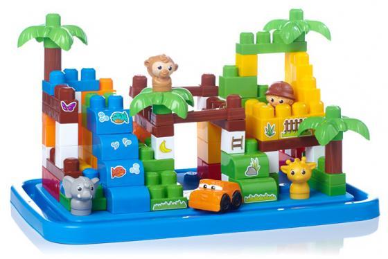 Конструктор Mega Bloks First Builders большой игровой набор Сафари 101 элемент DCL33 guide craft магнитный конструктор better builders career people