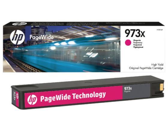 Фото - Картридж HP F6T82AE для PageWide Pro 452/477 пурпурный картридж обслуживания hp 841 pagewide xl f9j48a