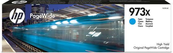 Фото - Картридж HP 973X для PageWide Pro 452/477 голубой F6T81AE картридж обслуживания hp 841 pagewide xl f9j48a