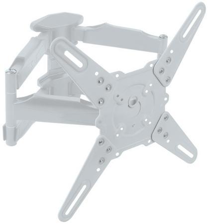 Фото - Кронштейн Kromax ATLANTIS-45 белый 22-65 VESA 400х400мм наклонно-поворотный до 45кг кронштейн