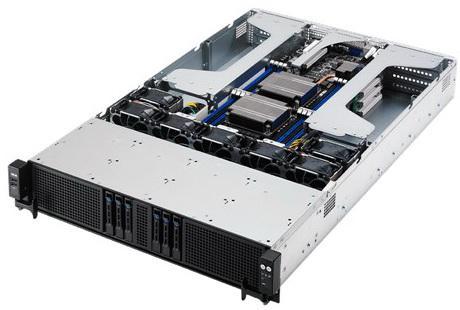 Серверная платформа Asus RS720Q-E8-RS8-P 90SV033A-M01CE0 серверная платформа asus ts300 e8 ps4