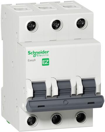 Выключатель нагрузки Schneider Electric Easy9 3П 40А EZ9S16340 автомат 1p 6а тип с 4 5ка schneider electric easy9