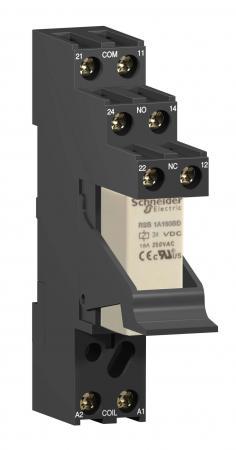 Колодка для реле Schneider Electric RSZE1S48M реле электромагнитное schneider electric lrd22c lr d22c 16 24a