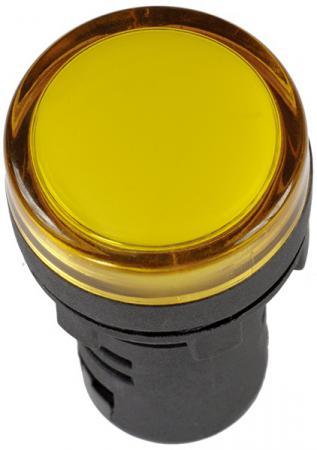 Лампа коммутационная Schneider Electric LED 220В ЛK-22 DEKraft желтый 25004DEK батария schneider electric 24 v 54446