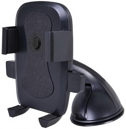 Автомобильный держатель Perfeo PH-516 до 6 на стекло торпедо черный автомобильный держатель perfeo ph 524