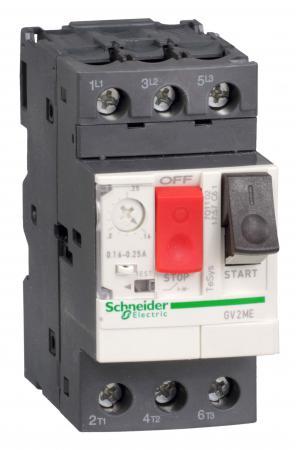 Автоматический выключатель Schneider Electric GV2ME32 панель лицевая schneider electric actassi 1 модуль белый 24 шт vdi88240