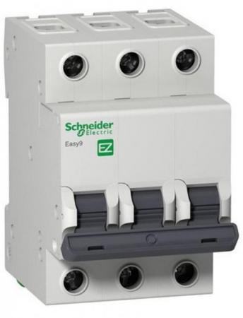 Автоматический выключатель Schneider Electric EZ9F34350 панель лицевая schneider electric actassi 1 модуль белый 24 шт vdi88240