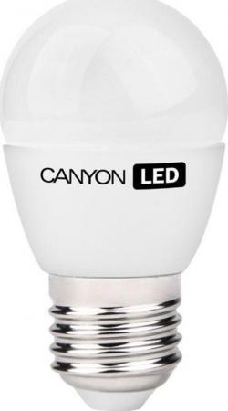 Лампа светодиодная шар Canyon E27 6W 4000K PE27FR6W230VN лампа светодиодная canyon led be14cl6w230vn