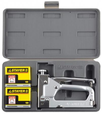Пистолет скобозабивной Stayer Profi 3150-H4_z01 паяльная лампа stayer profi 40655 1 5