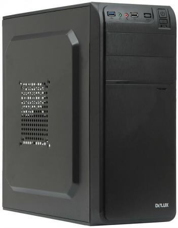 Корпус ATX Delux DW600 Без БП чёрный колонка delux dls q10bb