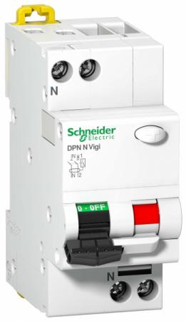 Дифференциальный автоматический выключатель Schneider Electric DPN N VIGI 6КА 25A C 30МA A9N19667 12v dc 1 8 n c plastic normally closed electric air gas water solenoid valve black