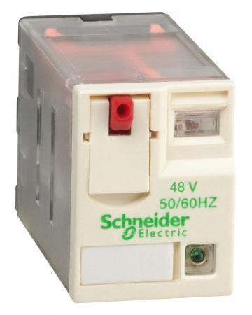 Реле миниатюрное Schneider Electric RXM2AB2P7 бокс schneider electric kaedra 2 ряда 24 модуля 13983