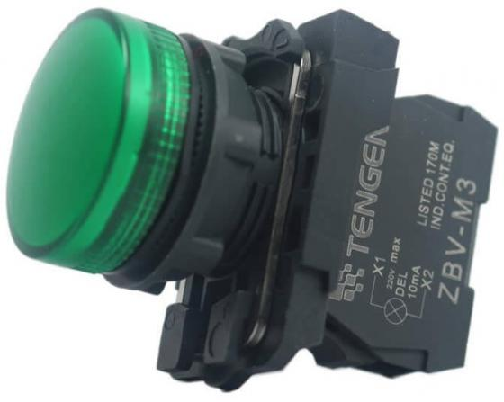 Лампа сигнальная Schneider Electric 22мм 230-240В зеленый XB5AVM3