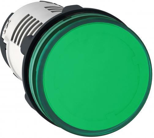 Лампа сигнальная Schneider Electric 22мм 230В зеленый XB7EV03MP