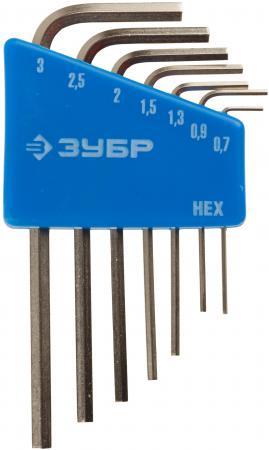 Набор ключей Зубр 7шт 27471-H7 набор отверток 7шт stayer master 2513 h7