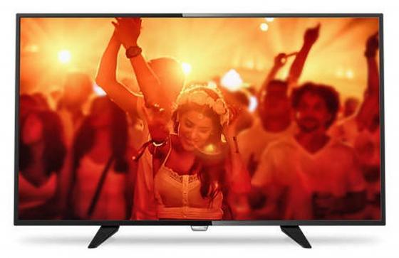 Телевизор LED 32 Philips 32PHT4201/60 черный 1366x768 50 Гц SCART USB телевизор philips 32pht4201 60