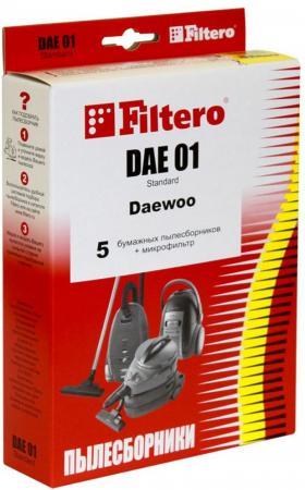 цена на Пылесборник Filtero DAE 01 Standard двухслойные 5 шт + 1 фильтр