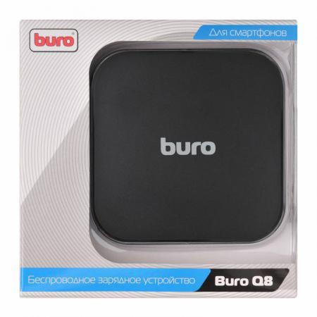 Беспроводное зарядное устройство BURO Q8 1A microUSB 2 х USB черный недорого