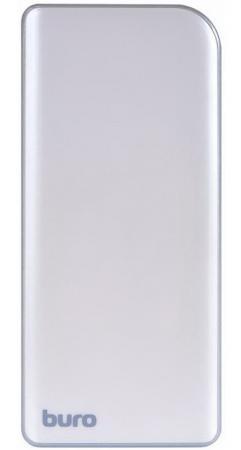 Портативное зарядное устройство Buro RA-8000 8000мАч серебристый/серый портативное зарядное устройство hiper rp10000 10000 мач
